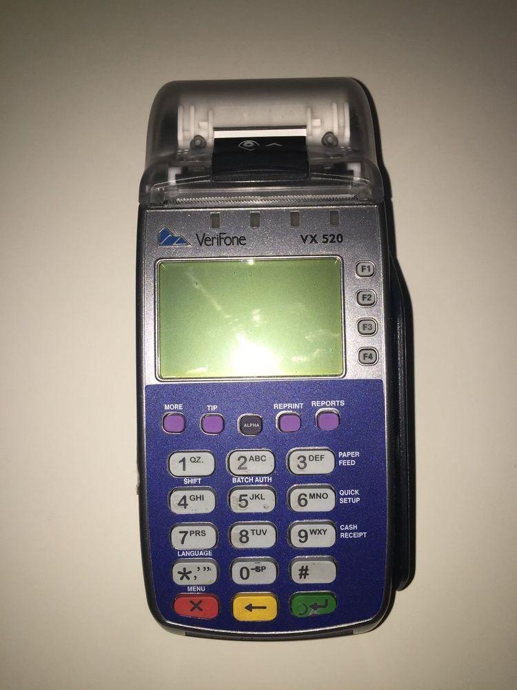 VeriFone VX 520 WorldPay Credit Card Reader #VeriFone