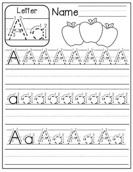 FREE A-Z Handwriting Practice | Kindergarten | Pinterest | Kind