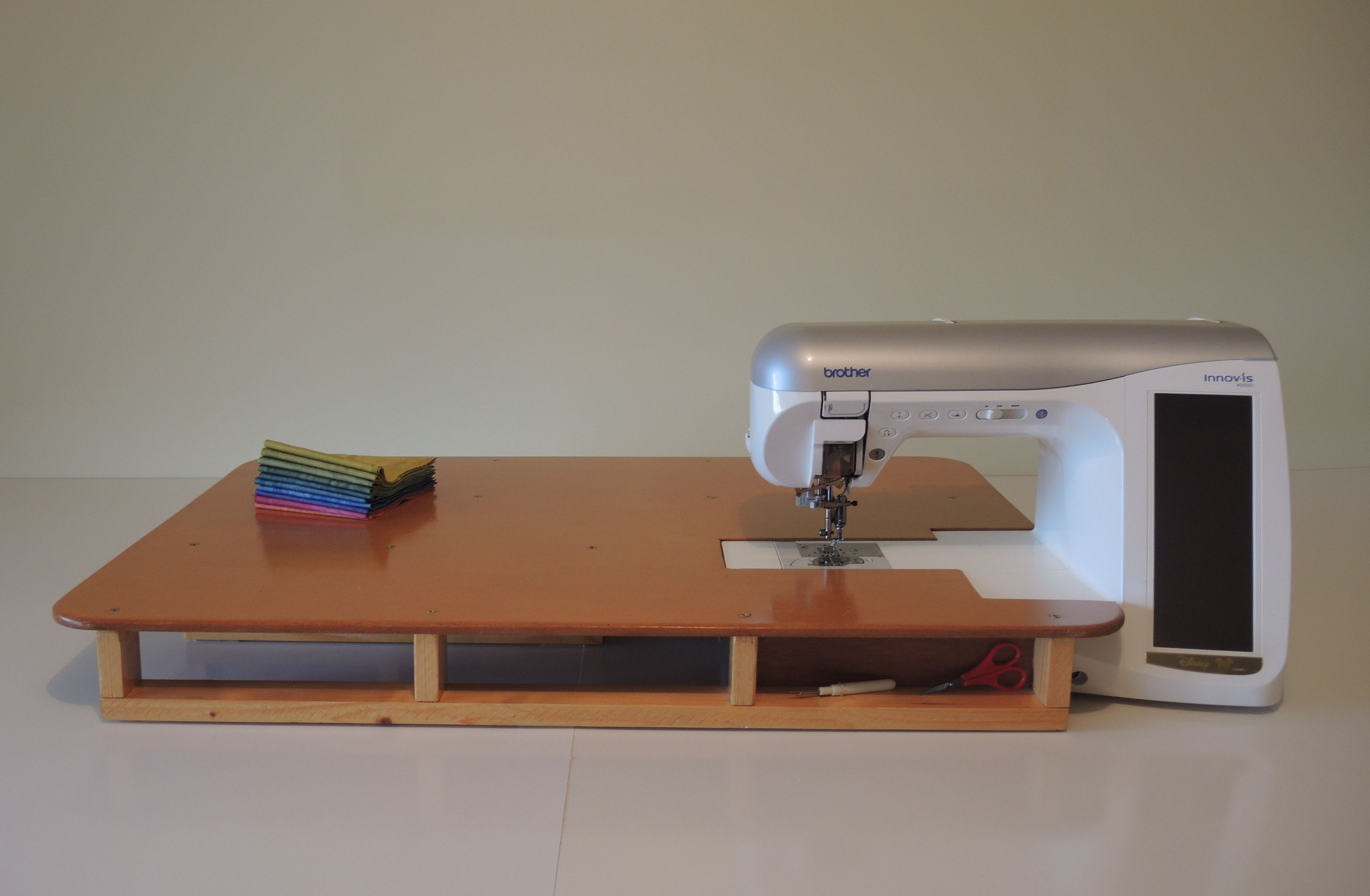 Sewing Machine Extension Table.You Can Also Have A Sewing Machine Extension Table The Same