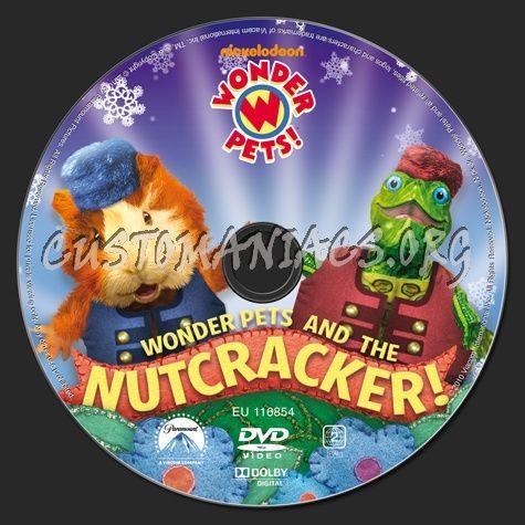 Wonder Pets And The Nutcracker Dvd Label Wonder Pets Dvd Label Pets