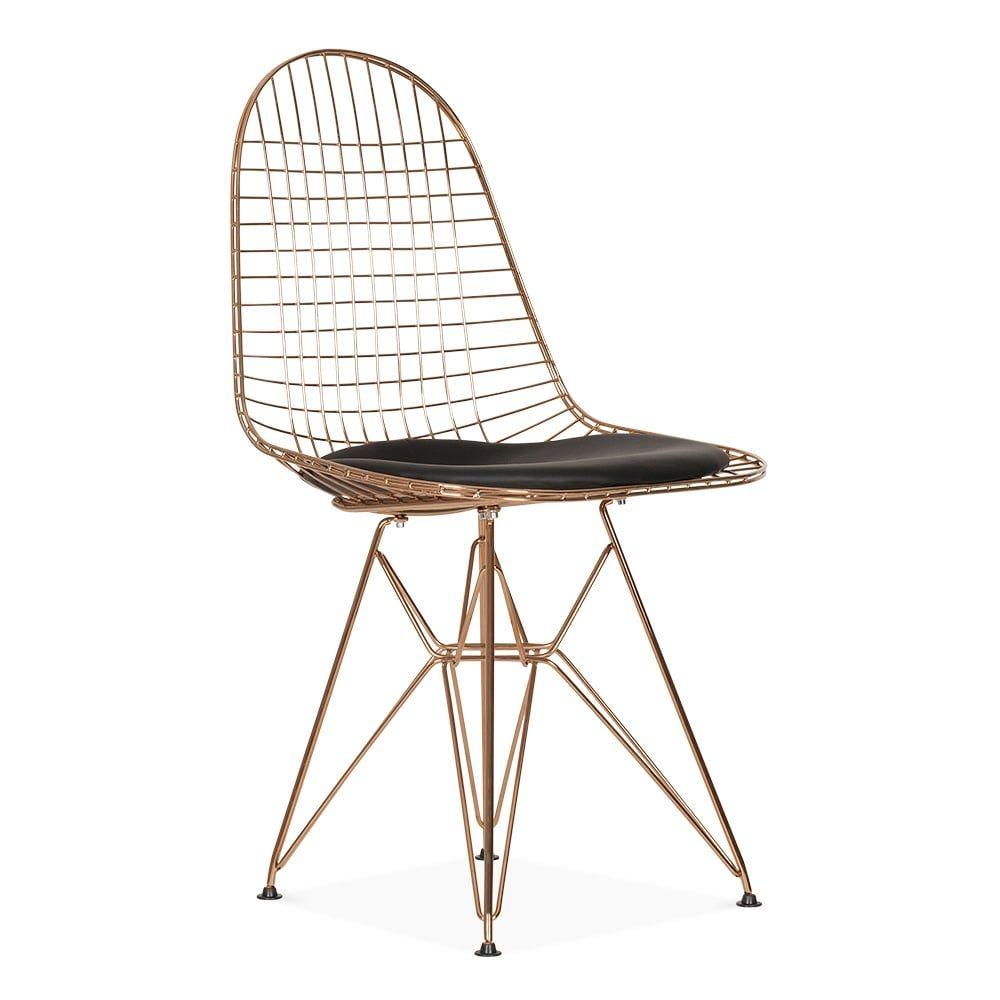 Charles E Style Kupfer DKR Drahtstuhl | esszimmer | Pinterest ...
