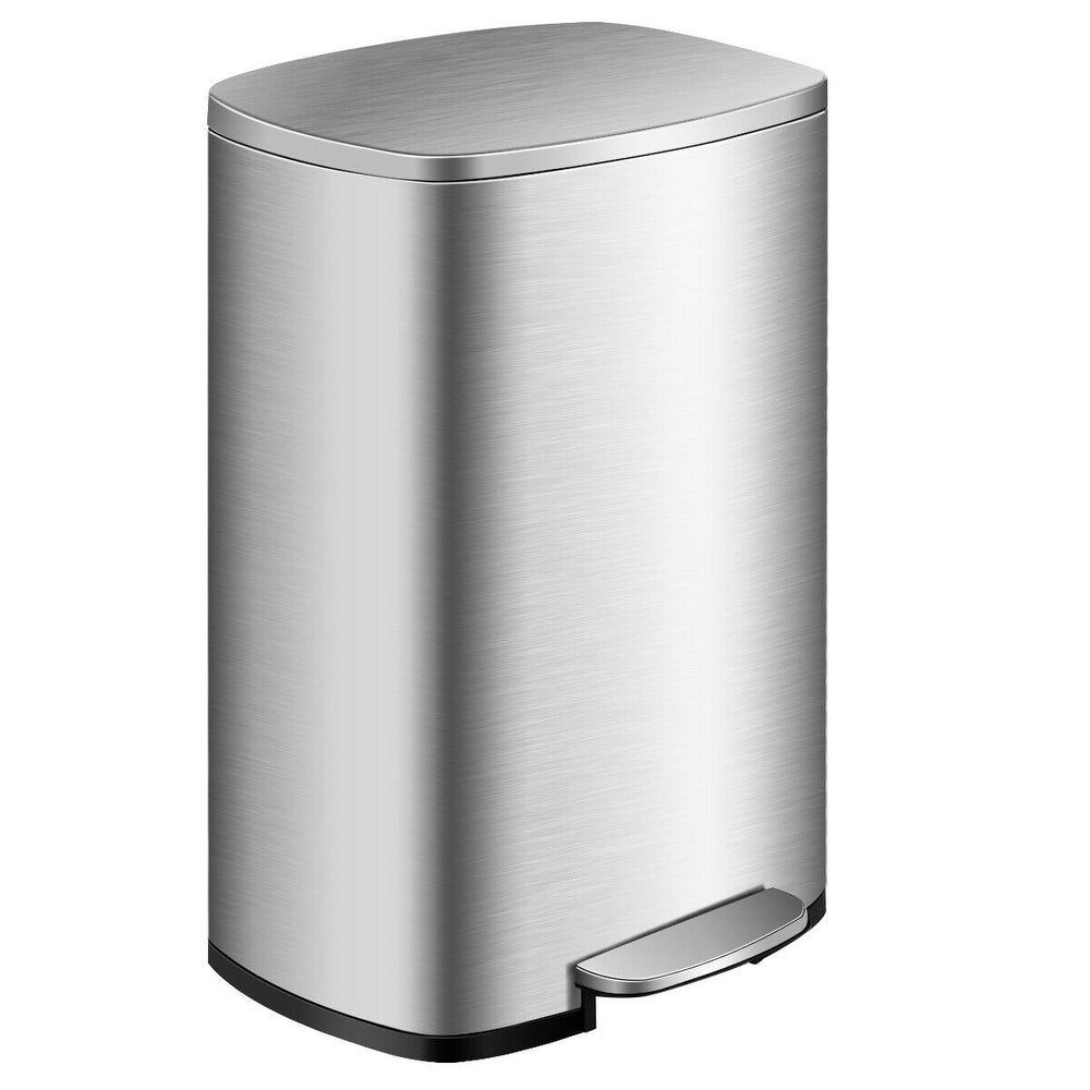 Shop happimess Marco 10.5-Gallon Double Bucket Trash Can with Lid - On Sale - Overstock - 19886647