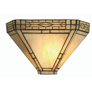 Oaks OT 1849 WB  Ophelia One Light Tiffany Wall Bracket