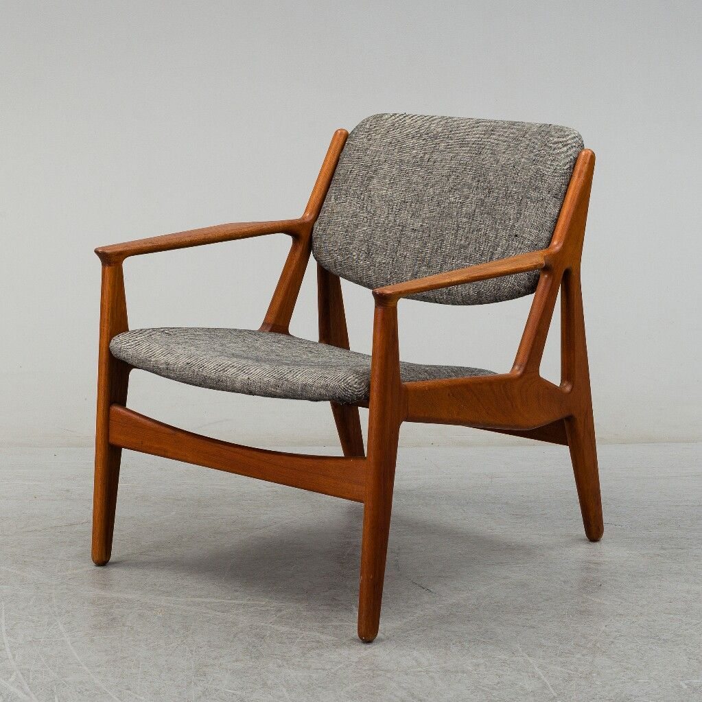 Arne Vodder Sessel Arne Vodder Teak Lounge Chair