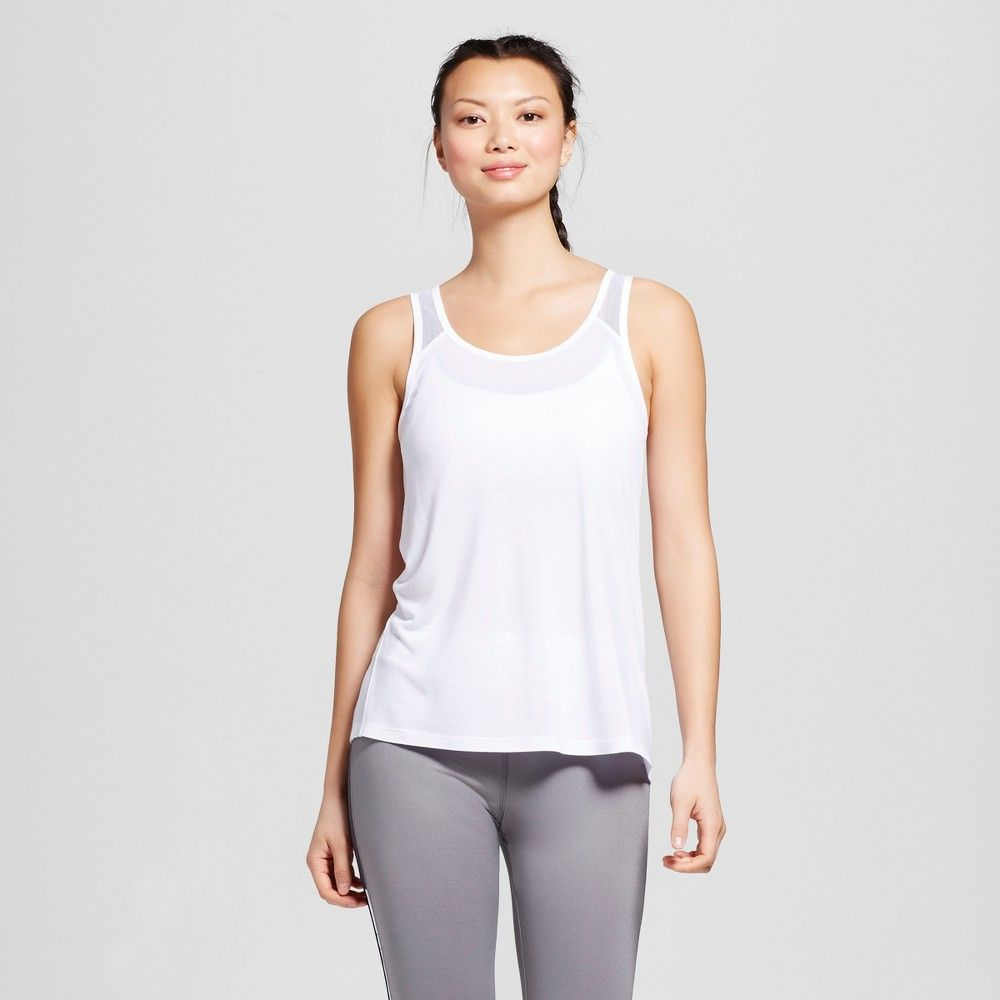 0a81a568fb Women's Mesh Back Loose Tank Top - C9 Champion | Products | Loose ...