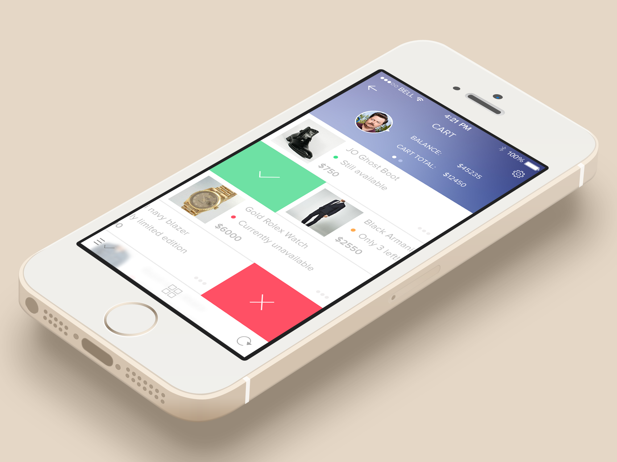 Easy Checkout by Simeon K. | UI Mobile | Pinterest | Ui design and Ui ux