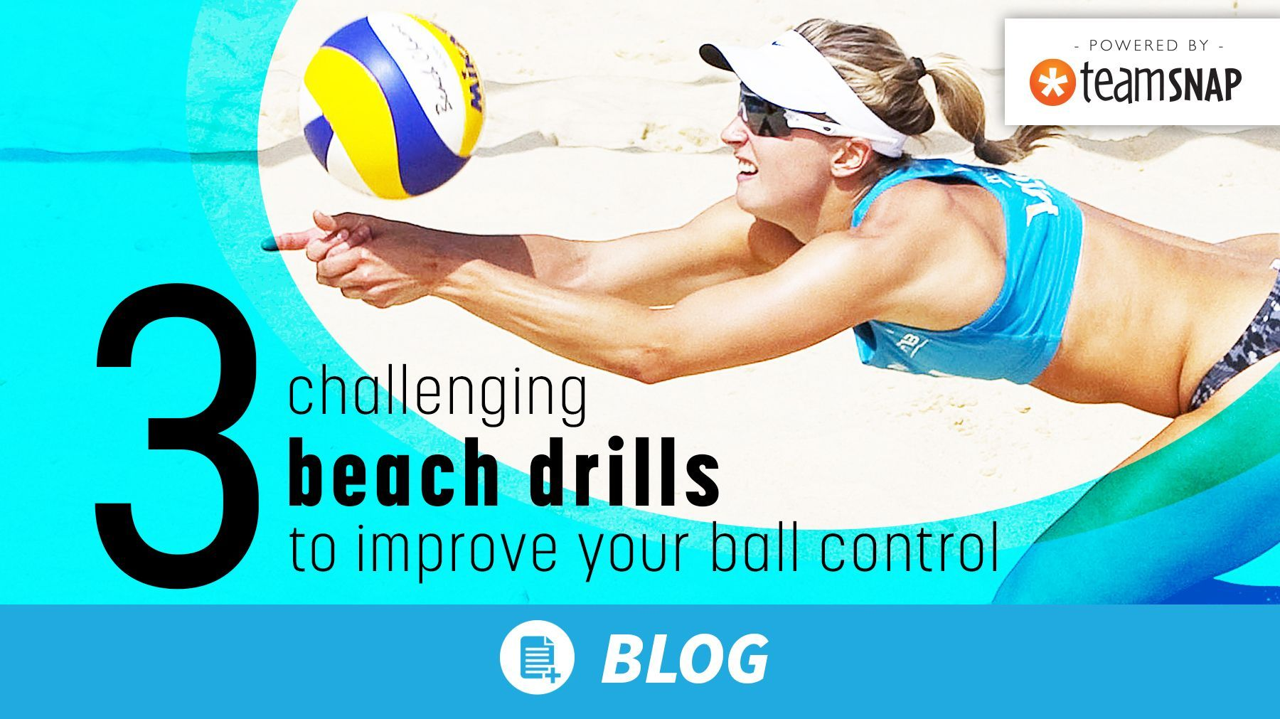 3 Challenging Beach Drills To Improve Your Ball Control Coaching Volleyball Volleyball Drills Drill