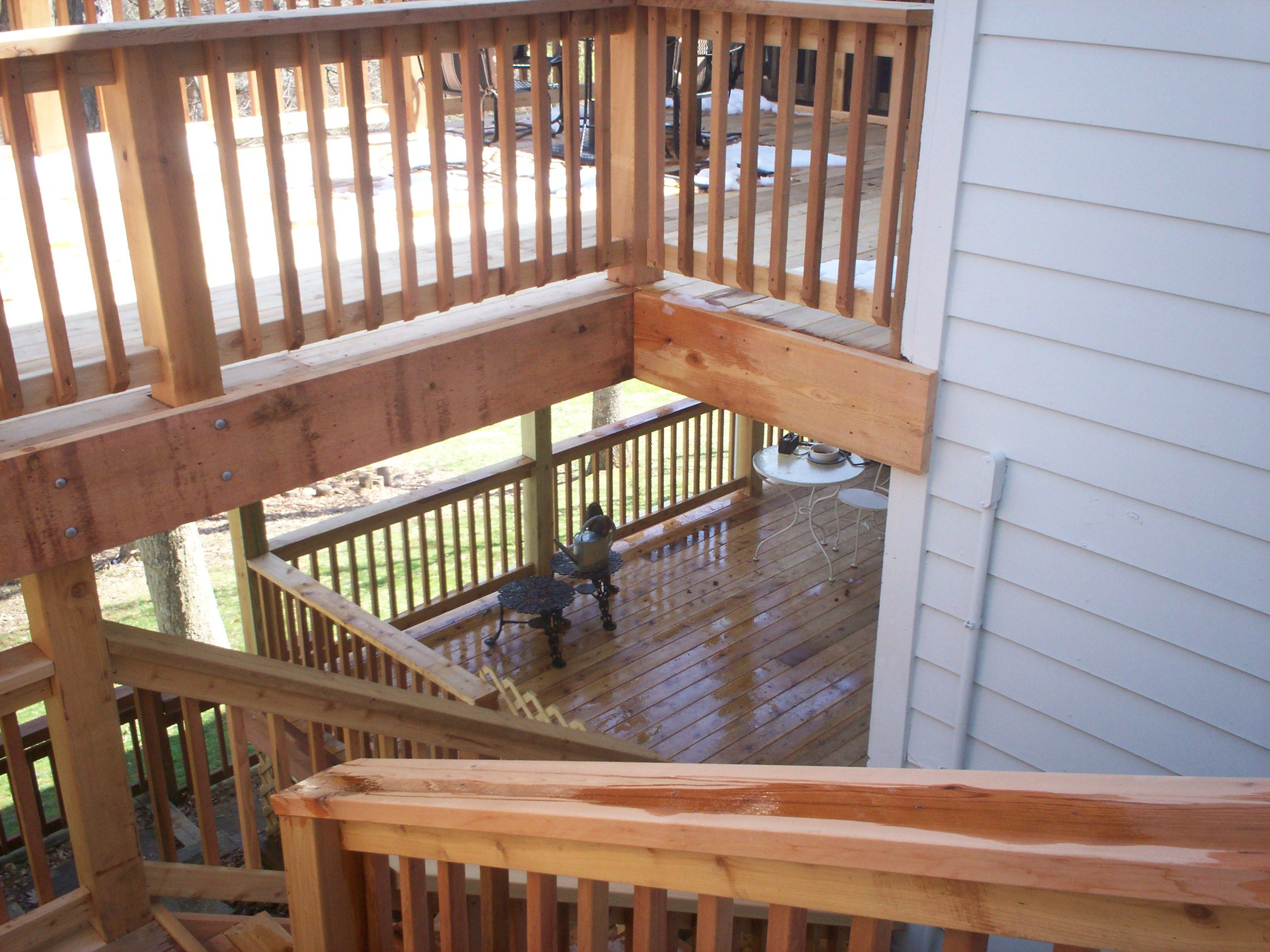 2 Story Deck Designs | Deck Design In St. Louis: Gallery Of Options »