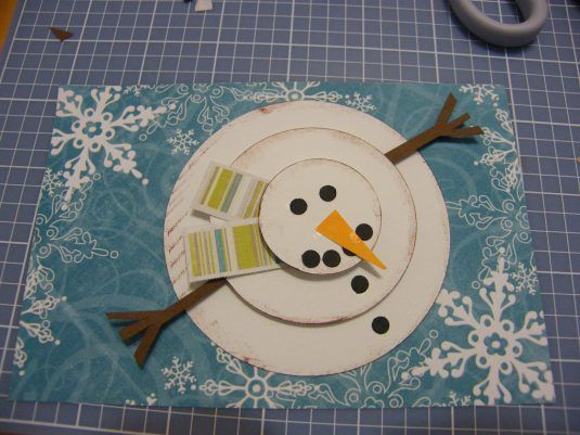 Carte de bonhomme de neige no l hiver id es d co pinterest bonhomme de neige carte - Pinterest bonhomme de neige ...