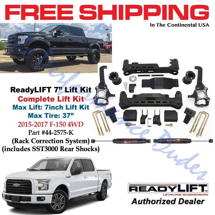 Same Business Day Shipping Readylift  Complete Suspension Lift Kit Fits   Ford F  K