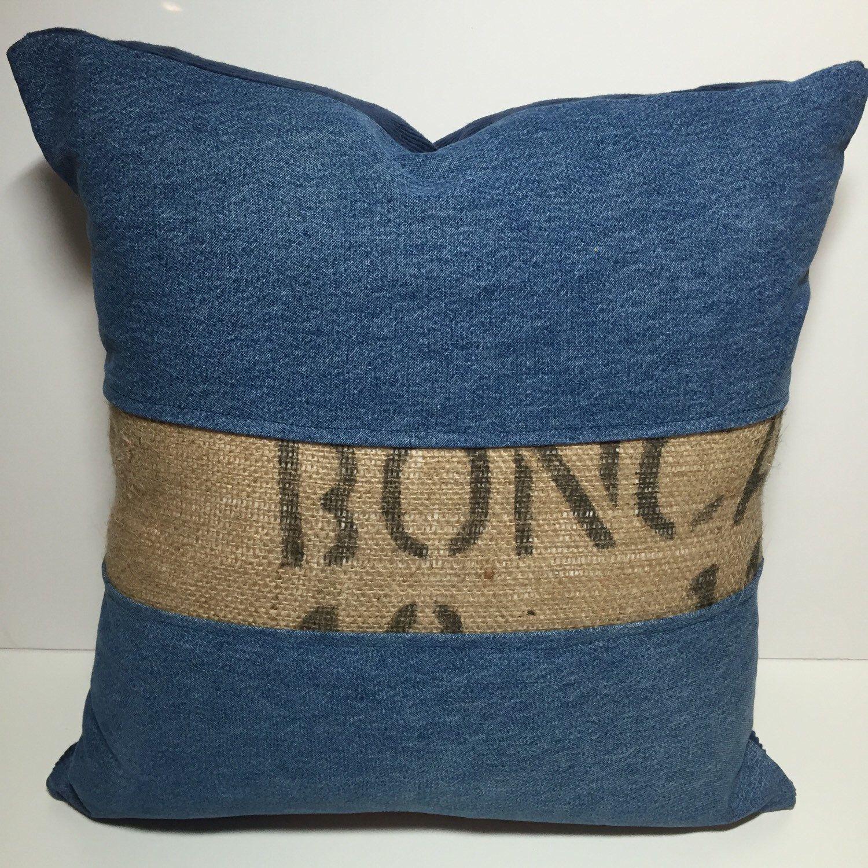 burlap pillow diy debbiedoos stenciled markers no fabric with sew