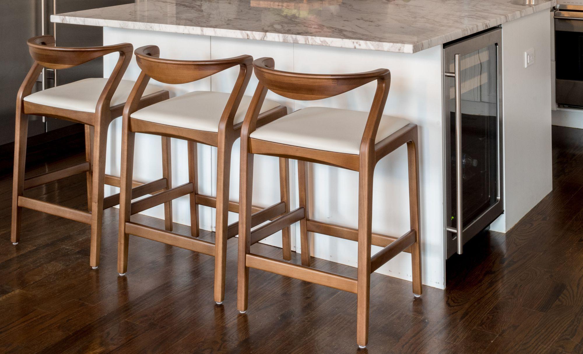 Duda Stool Contemporary Bar Stools Modern Stools Dining Room Decor