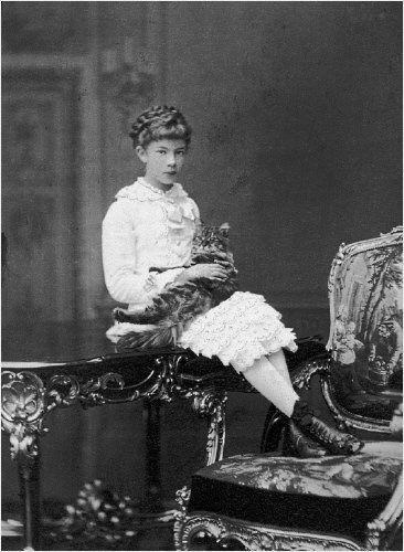 Archduchess Marie Valerie, a daughter of Empress Elizabeth and Emperor Franz Joseph