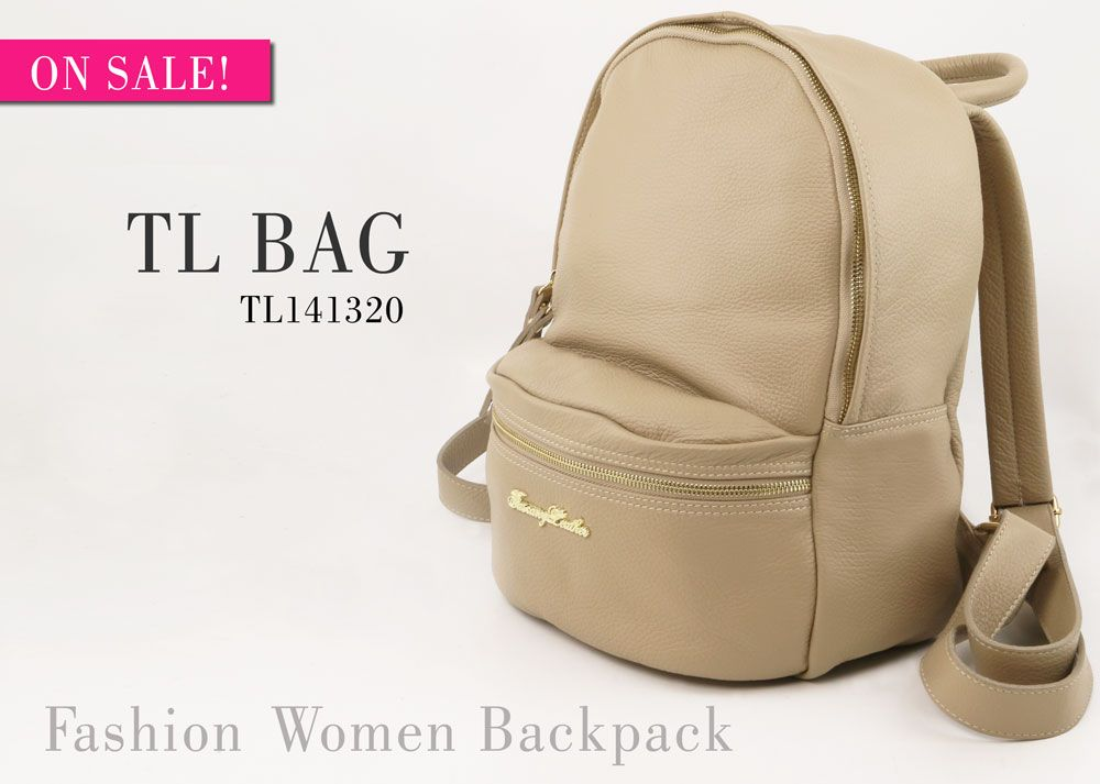 Discover the New TL BAG, Soft Leather #Backpack in All its #Summer Colors...ON #SALE!
