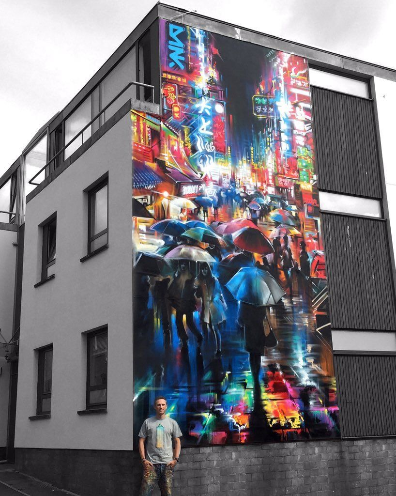Akshay Kumar Mangla On Removal Services Street Art And Years - Spanish street artist transforms building facades into amazing artworks