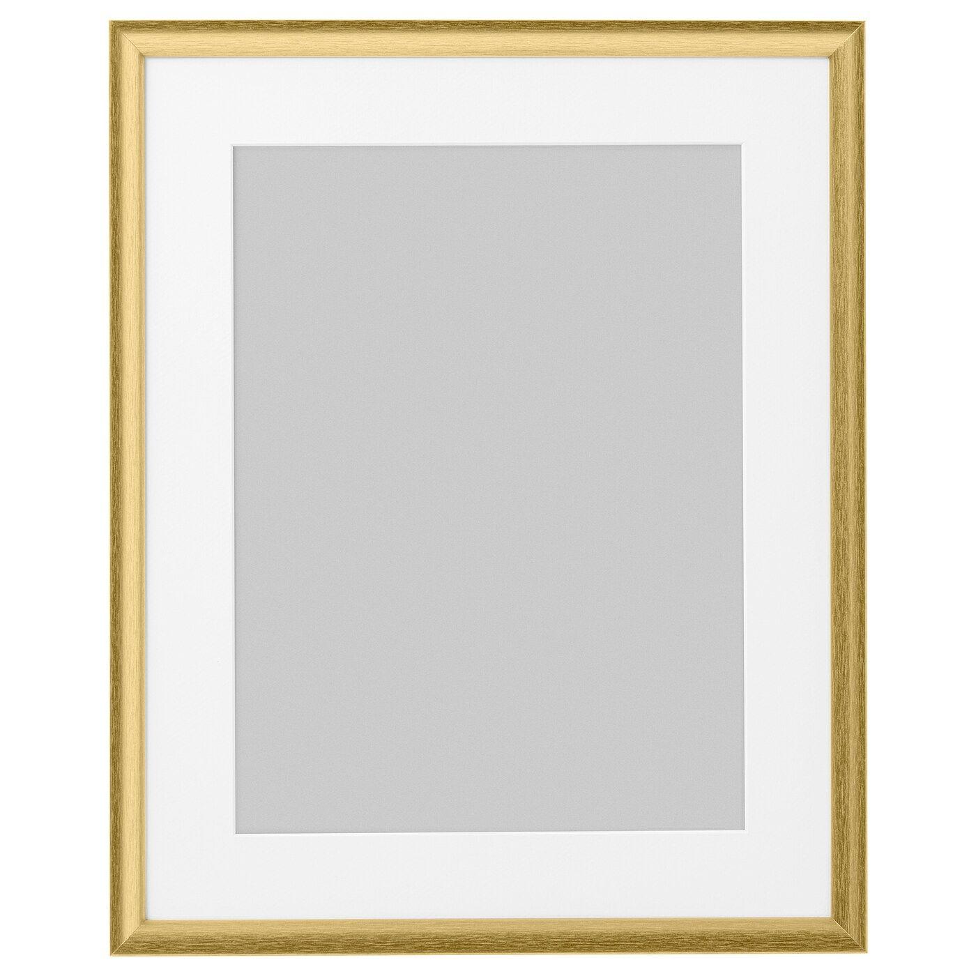 Silverhojden Frame Gold 16x20 Ikea Gold Picture Frames Frame Frames On Wall