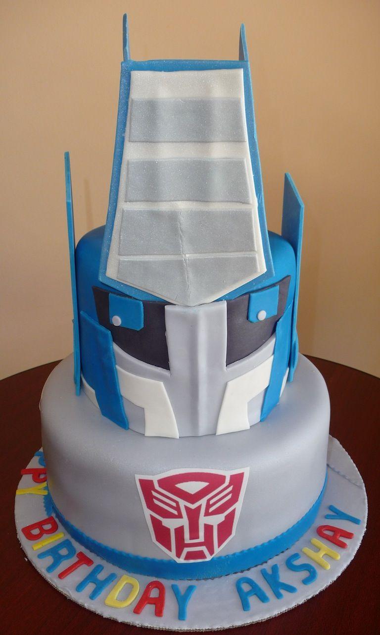 Transformers Cake By Roscoe Bakery Cakes Pinterest Transformer