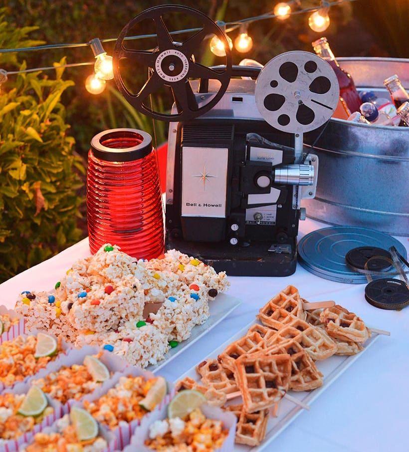 Noche De Cine En Casa
