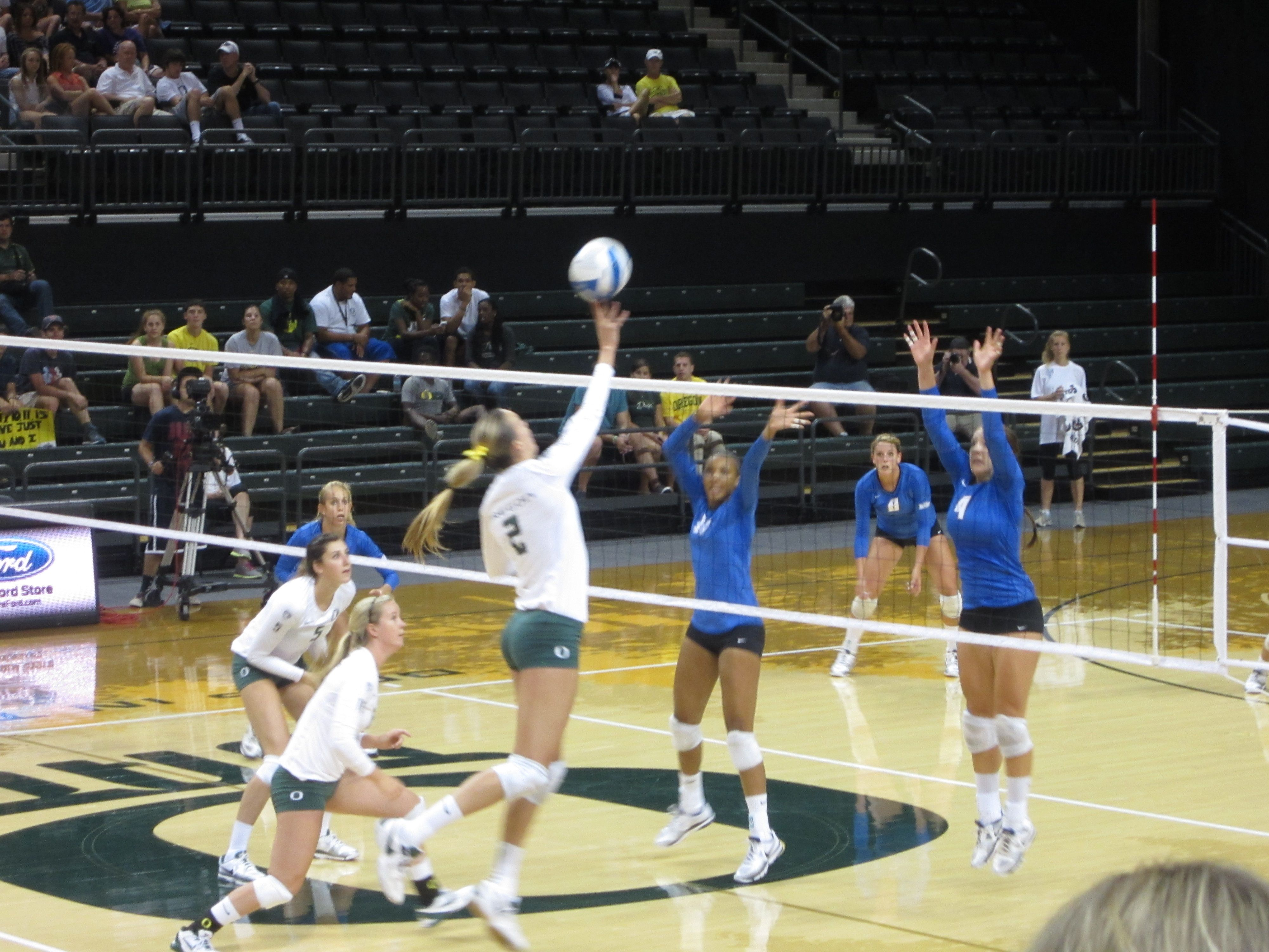 Oregon Duck Volleyball 2012 Oregon Ducks Volleyball Oregon