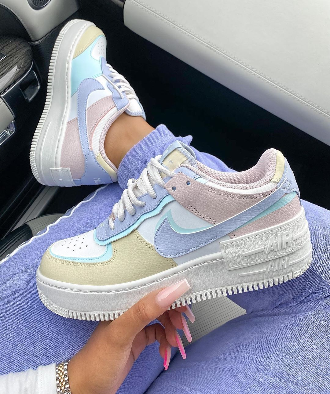 Restock Alert This Nike Air Force 1 Shadow Pastel Has Just Restocked At Nike With Limited Sizes And Selling Su In 2020 Nike Shoes Jordans Cute Sneakers Nike Air Shoes Follow to keep up with nike's hottest new kicks 🔥 follow us @airforce1nike and tag us to get featured 👀. this nike air force 1 shadow pastel has