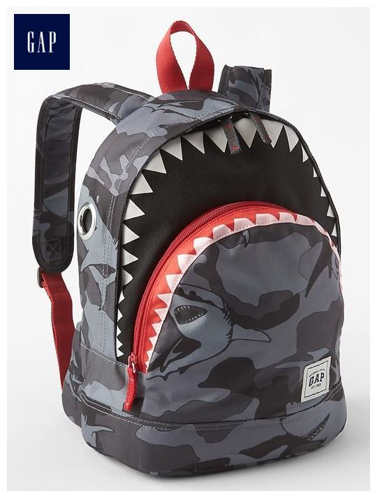 Shark backpack  61b733f0735c3