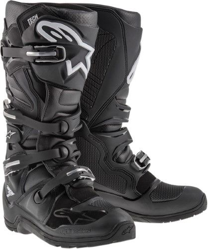 Botas Mx Alpinestars 2015 Tech 8 Rs Negro (Eu 47 / Us 12 , Negro)