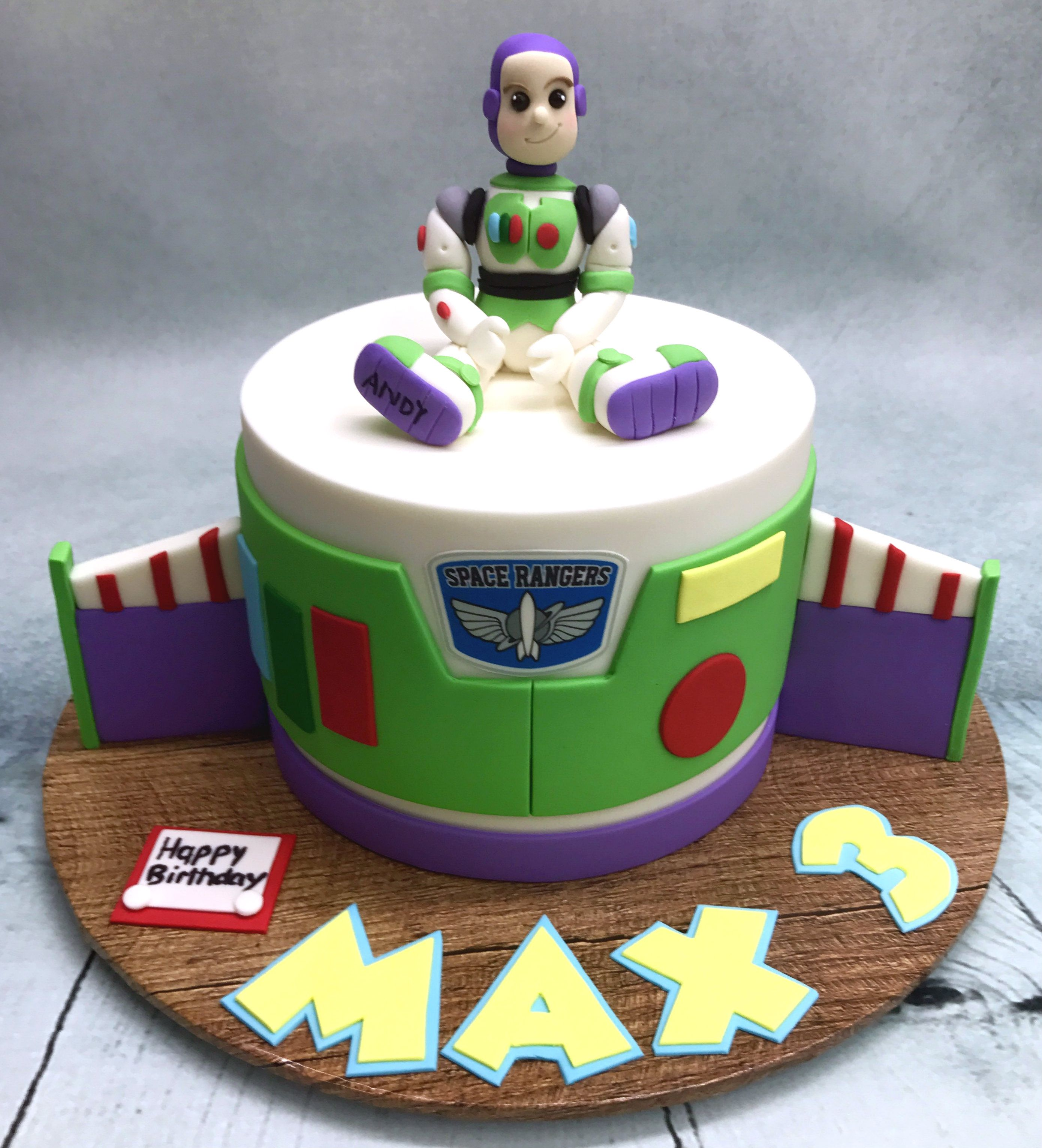 Buzz Lightyear Birthday Cake With Images Toy Story Birthday
