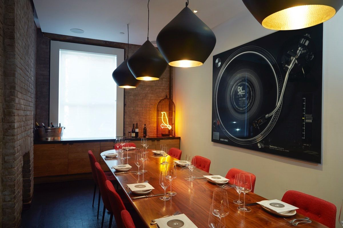 Private Dining Charlie Bird Italian 5 King St 6th Ave With