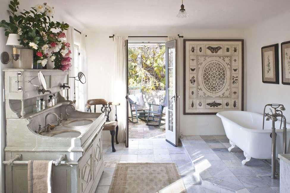 Il bagno in stile provenzale: 15 splendide idee per ispirarvi! spaces