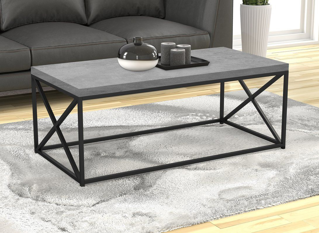 Kober Frame Coffee Table Coffee Table Grey Coffee Table Center Table Living Room [ 800 x 1092 Pixel ]