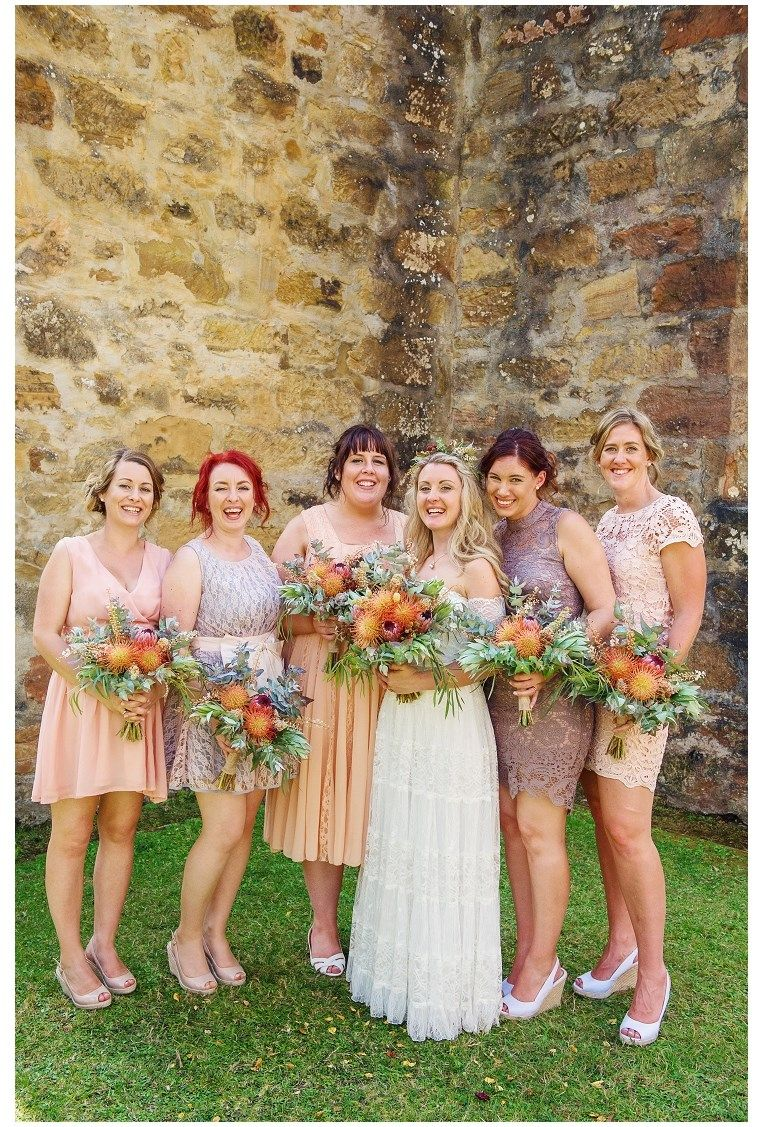 Mismatched bridesmaids dresses worked a treat blush peach nude mismatched bridesmaids dresses worked a treat blush peach nude apricot lilac ombrellifo Choice Image