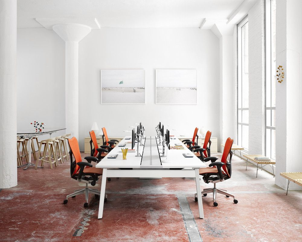 Pin by Monica on Office Space White dining chairs