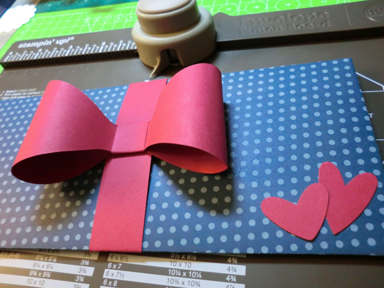 Envelope Punch Board Stampin Up Konzertkarten Verpackung