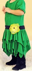 Tutorial: Little girl's flapper-inspired dress with handkerchief skirt · Sewing | CraftGossip.com
