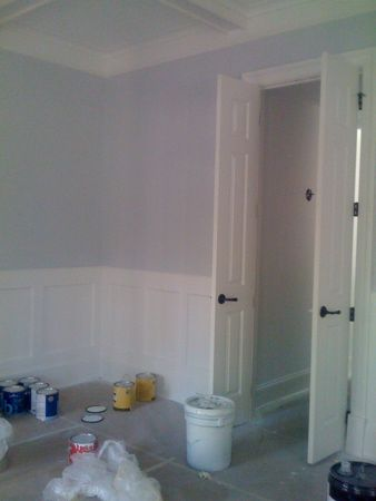 Benjamin moore bunny gray the walls in this room is for Bunny gray benjamin moore