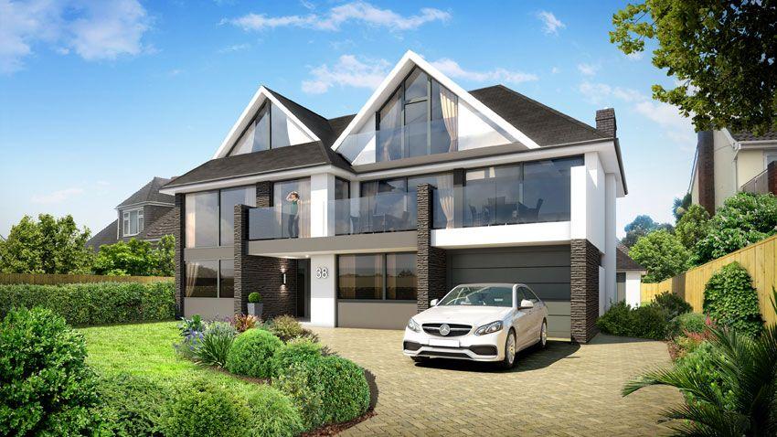 38 Wharncliffe Road - A luxury build boasting spectacular sea views. #cgi