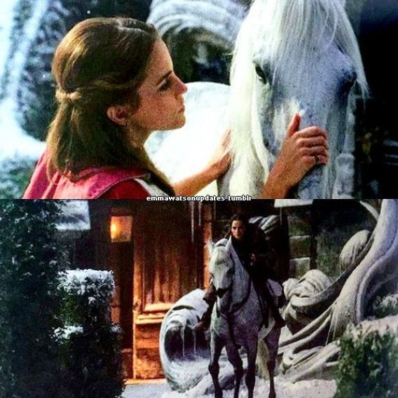 New pictures of Emma Watson in Beauty and the Beast