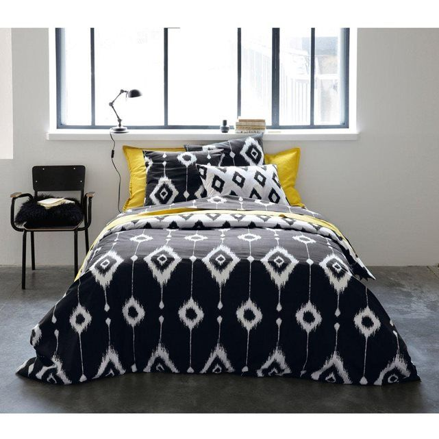 image housse de couette r versible cappadoce la redoute interieurs look ethnique pinterest. Black Bedroom Furniture Sets. Home Design Ideas