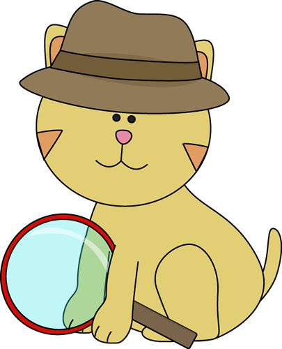 detective cat clip art detective cat image cool characters rh pinterest com detective clipart magnifying glass detective clipart magnifying glass