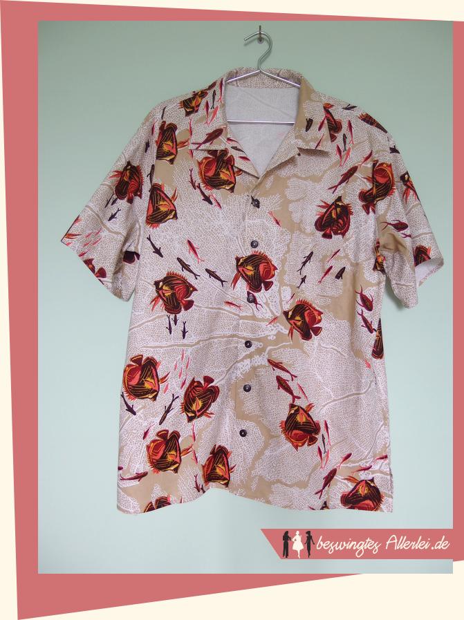 Ein Hawaiihemd wie von Alfred Shaheen! | Schnittmuster | Pinterest ...