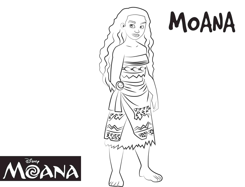 Disney\'s Moana Coloring Pages Sheet, Free Disney Printable Moana ...