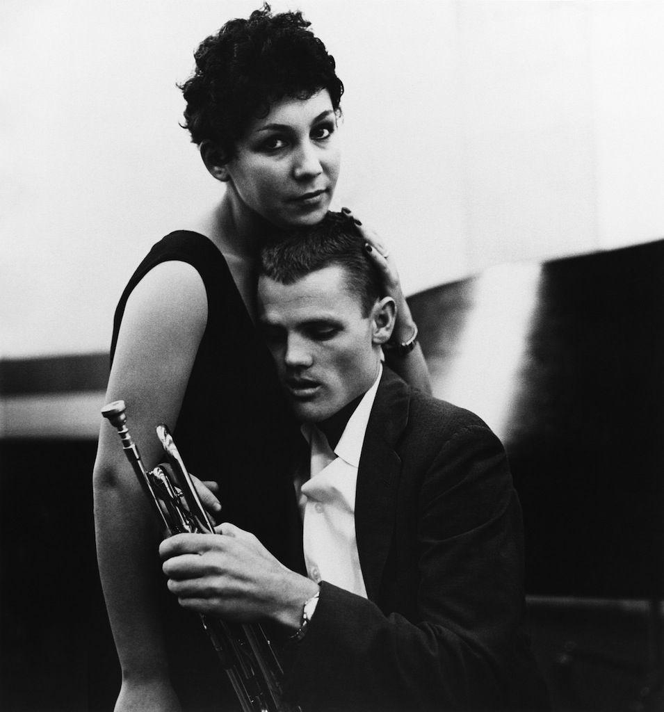 Chet Baker His Then Girlfriend Liliane Rovere By William Claxton William Claxton Chet Baker Jazz Musicians