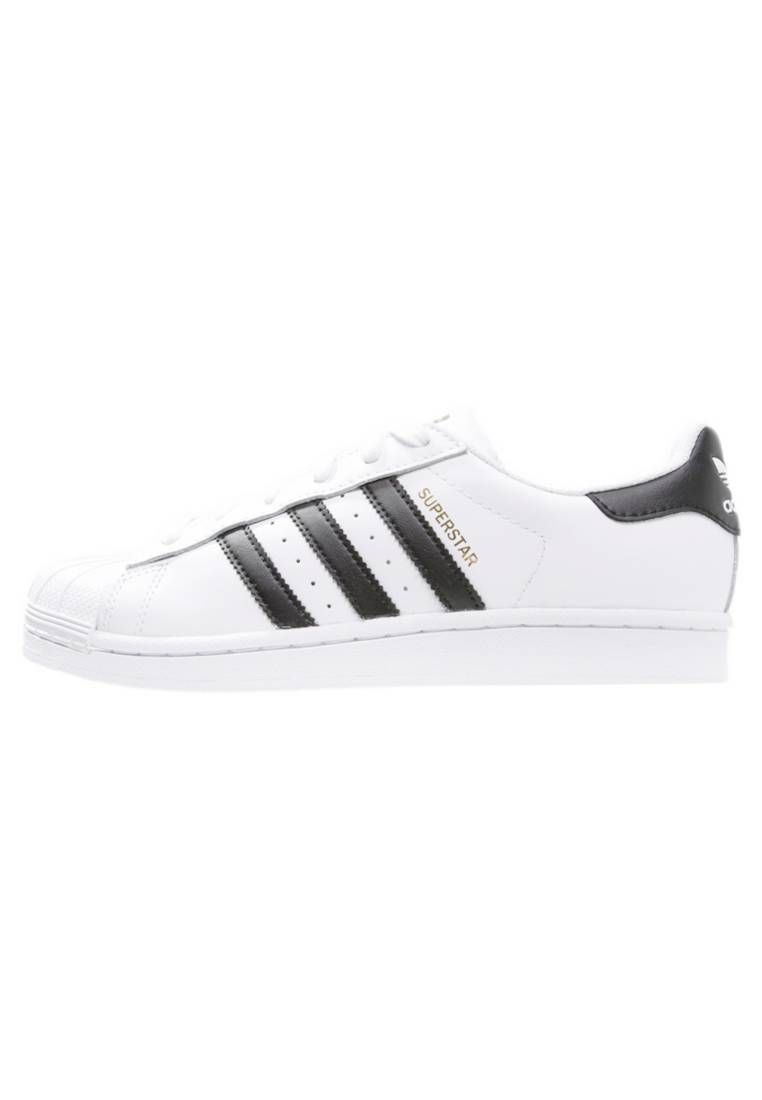 adidas Originals. SUPERSTAR - Zapatillas - white/core black ...