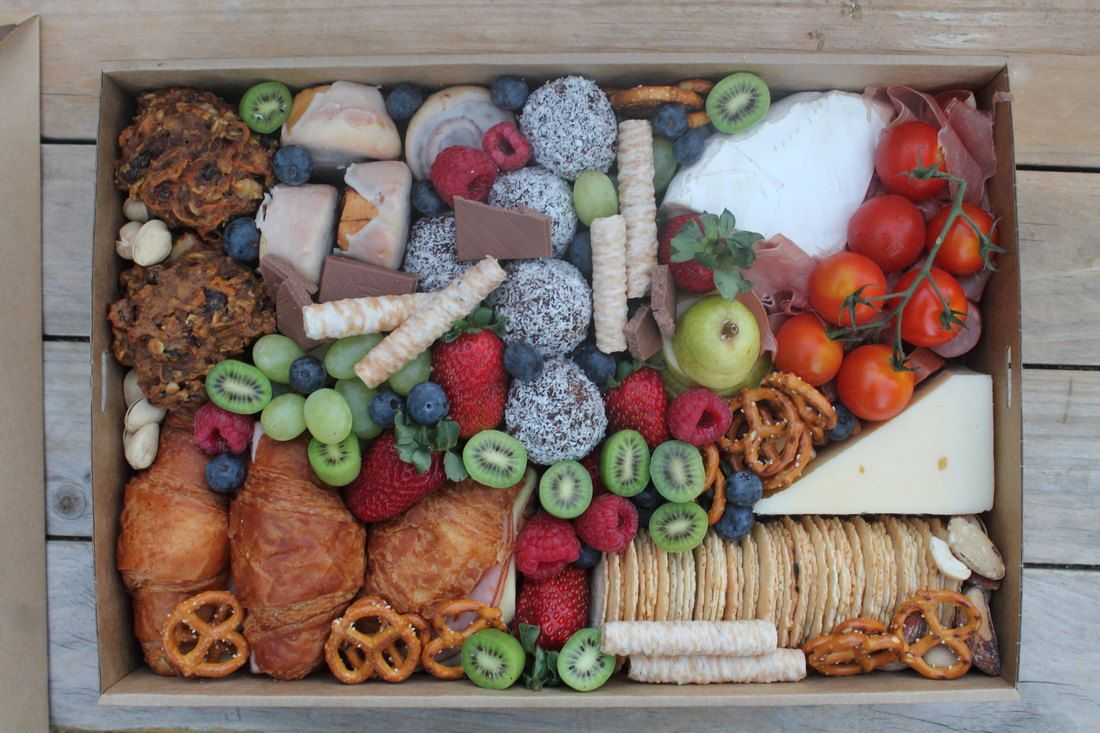 Brunch Box (medium) Brunch box, Gourmet gift box, Graze box