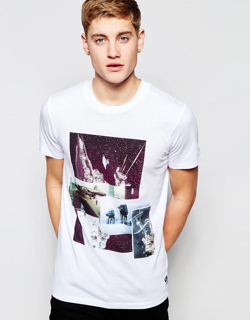 Jack & Jones x Star Wars T-Shirt with Spaceship Print