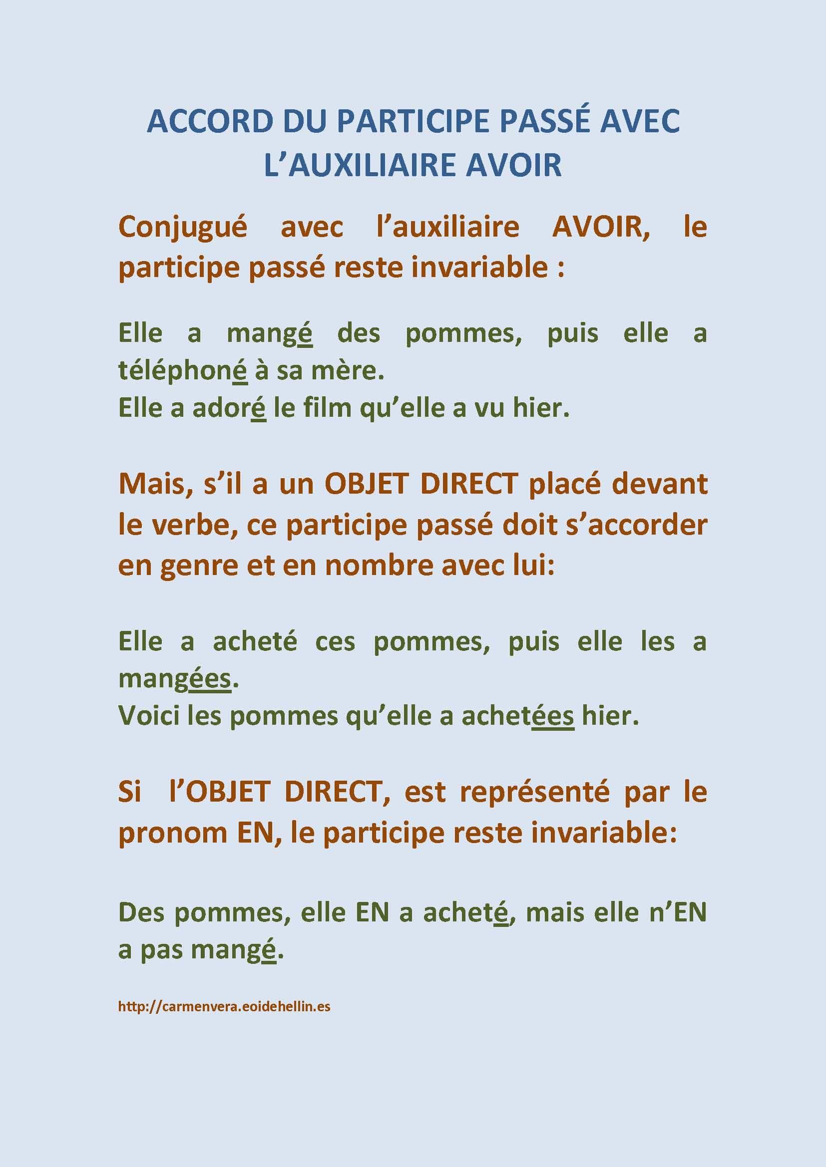 Les accords - Grammaire - Bien écrire.org