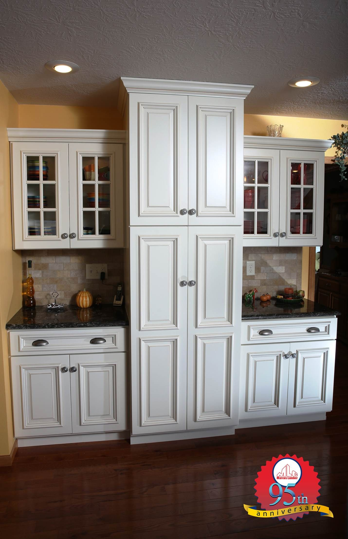 Eggshell Prefinished Brown Glazed Birch Wood Cabinets The Beautiful 6 Pane Cabinet Doors Add Detail And Character To These Cabinet Doors Cabinet Kitchen Wall
