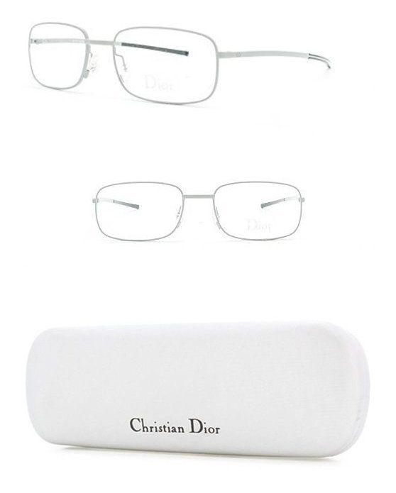 376ac4957f Christian Dior 23 AL9 Grey Rectangle Eyeglasses Frame For Men and Women   apparel  accessory  christiandior  prescription eyewear frames  shops  women  ...