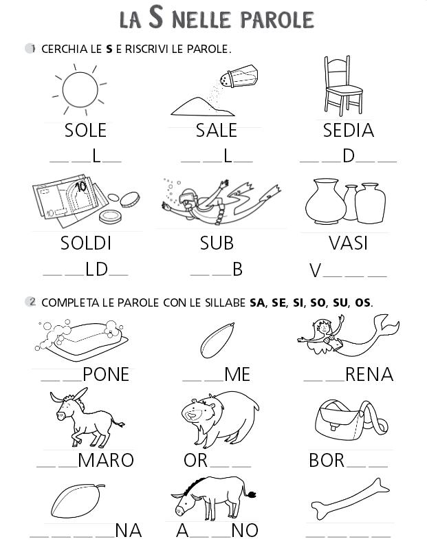 Giochi E Colori Schede Didattiche Del Maestro Fabio Schede