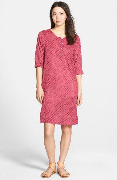 Velvet by Graham & Spencer Print Voile Dress